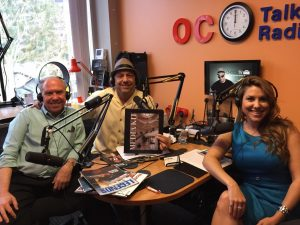 Bruce Bryant, Jon Marchese, and Linda Ginex at Choice TV Radio show take one!