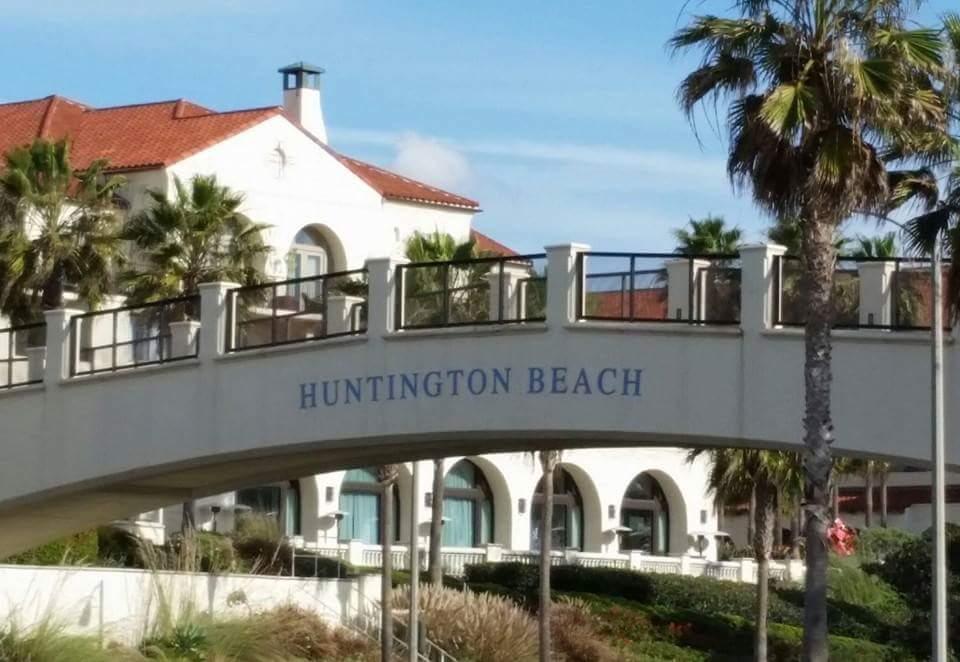 Huntington Beach Bridge Near Hotel Home Amp Realty Magazine