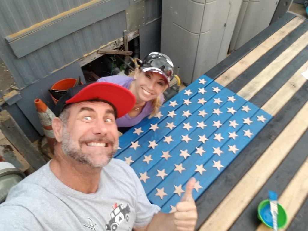 US Flag DIY Project